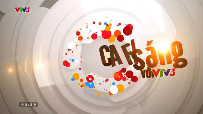 """Nhiều năm qua, """"Cafe sáng với VTV3"""" đã trở thành món ăn tinh thần khởi đầu ngày mới của đông đảo khán giả Việt"""