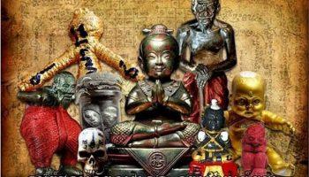 Những truyền thuyết rùng rợn về Kuman Thong – quỷ Linh nhi
