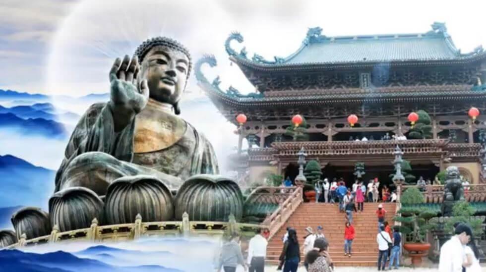 Ngoài việc tu tập, nếu có điều kiện bạn nên năng vãn cảnh chùa lễ Phật (Ảnh: ST)
