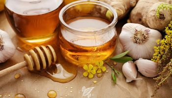 Mật ong hấp tỏi giúp trị cảm, ho và tăng cường sức đề kháng cho bé