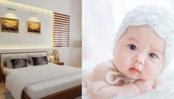 10 mẹo phong thủy phòng ngủ giúp vợ chồng mới cưới sớm thụ thai