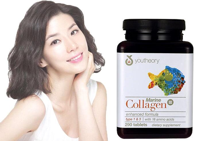 Dòng sản phẩm giúp bổ sung collagen của Youtheory Nutrawise Mỹ có mấy loại? Giá bao nhiêu?
