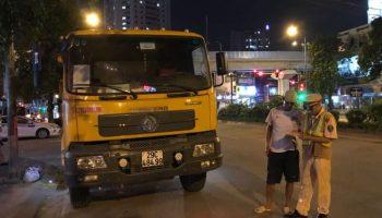 Mật phục bắt xe chở quặng quá tải trên QL3 ở Bắc Kạn