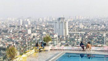 Ngất ngây ngắm nhìn biệt thự phố có bể bơi sang trọng trên sân thượng ở TP Hồ Chí Minh