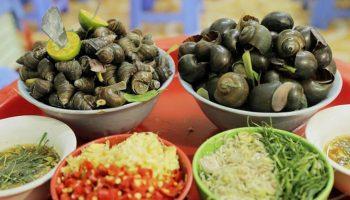 Những quán ốc ngon rẻ nổi tiếng ở Hà Nội