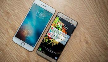 So sánh Samsung Galaxy Note 7 và Iphone 6s Plus