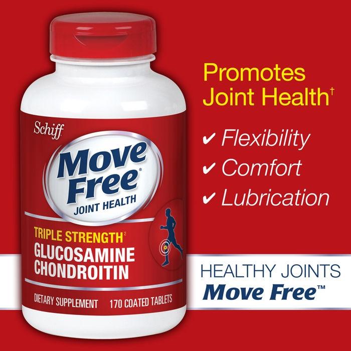 Thành phần chính của Thuốc Move Free Joint Health