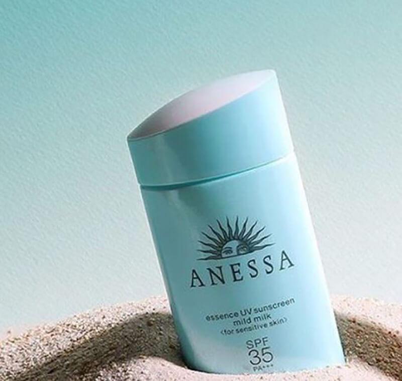 Kem chống nắng Anessa Essence UV Sunscreen Mild Milk SPF35 PA+++