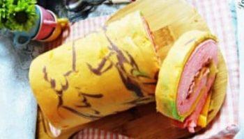 Bánh bông lan cuộn da quý phi