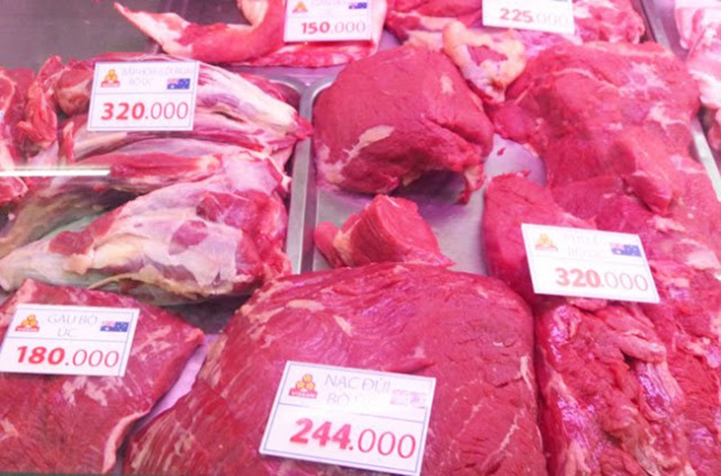 Giá thành của thịt trâu Ấn Độ đông lạnh rẻ hơn so với thịt bò nên được nhiều quán ăn sử dụng