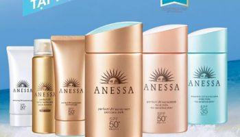 Review 6 loại kem chống nắng phổ biến của Anessa