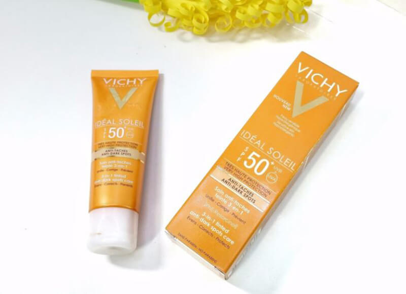 Kem chống nắng Ideal soleil anti-ageing