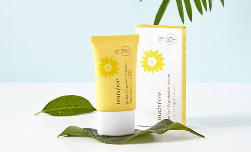 Kem chống nắng Innisfree Perfect UV Protection Cream Long Lasting for Dry Skin.