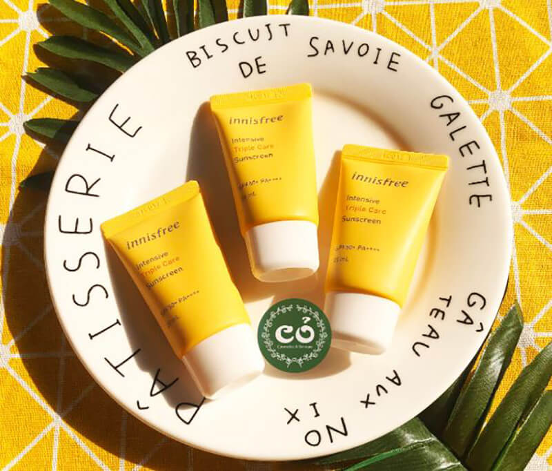 Kem chống nắng Innisfree Intensive Triple Care Sunscreen