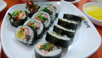 Làm sushi low carb mới dễ làm sao