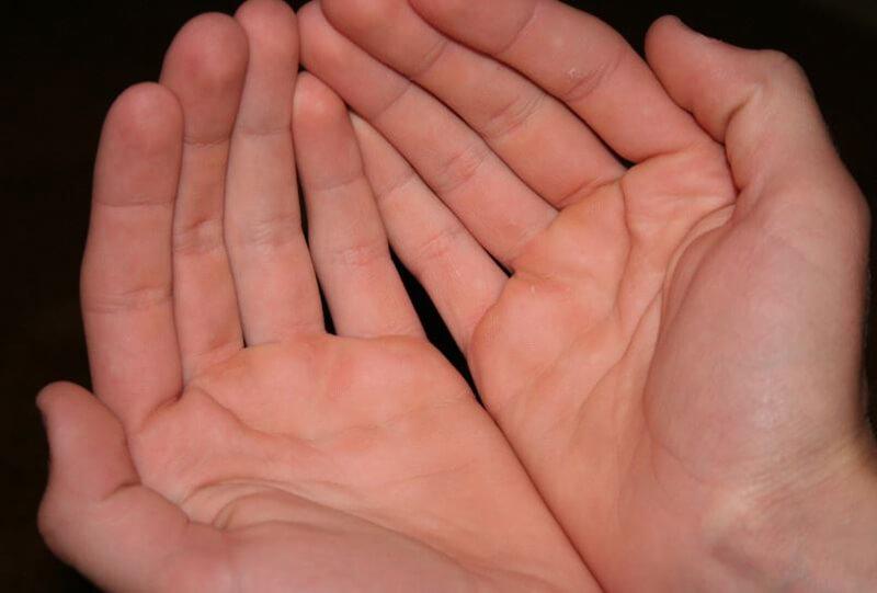 Lòng bàn tay tụ Thủy