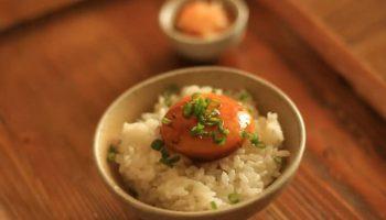 Lòng đỏ trứng ngâm nước tương kiểu Nhật