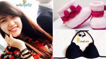 Mai Khánh Linh: Từ cô nhóc mê đan thành chuyên gia móc len của các mẹ bỉm sữa
