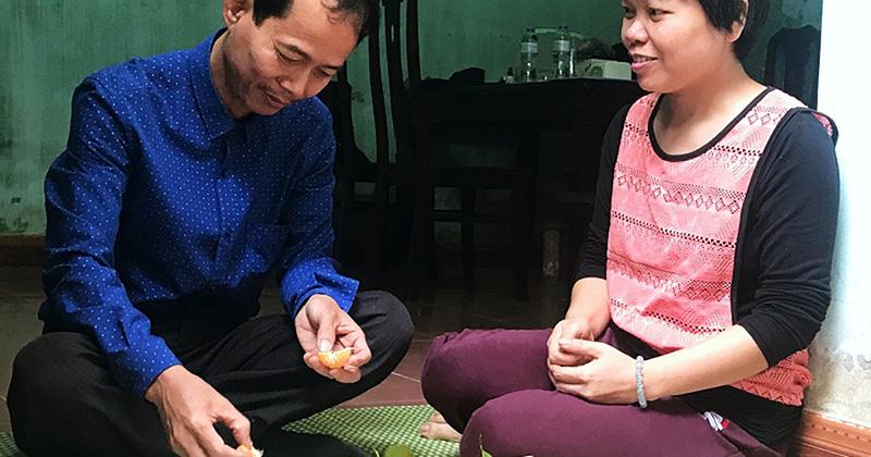 Chị Trần Thị Hường kể về câu chuyện bệnh tật của mình