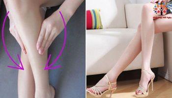 Tập thói quen này, bắp chân to sẽ thon gọn bất ngờ chỉ sau 2 tuần