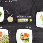 Thực đơn 14 ngày ăn sạch Clean Eating giảm mỡ bụng, thon gọn vóc dáng