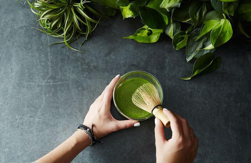 Sinh tố quýt trà xanh