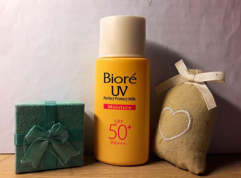 Biore UV Perfect Block Milk Moisture SPF 50+ PA+++