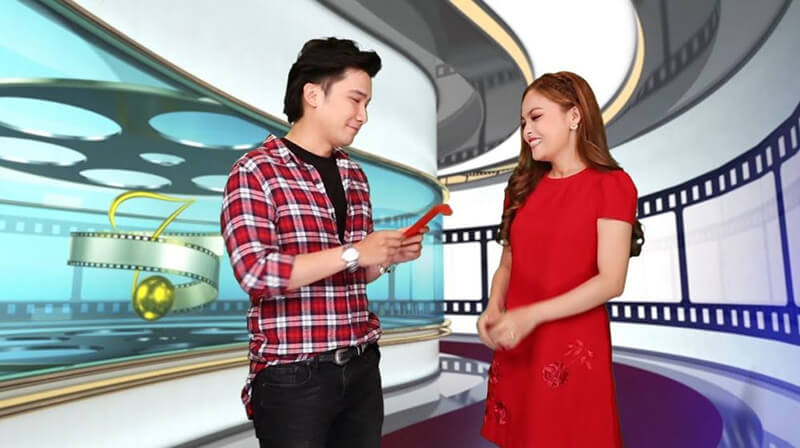 Hai MC của chương trình Giai Điệu Phim Việt