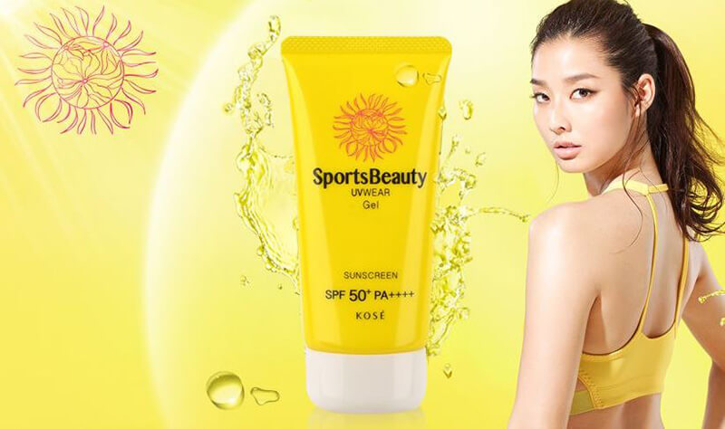 Kem chống nắng KOSE Sports Beauty UVWEAR Gel Sunscreen SPF 50+ PA++++