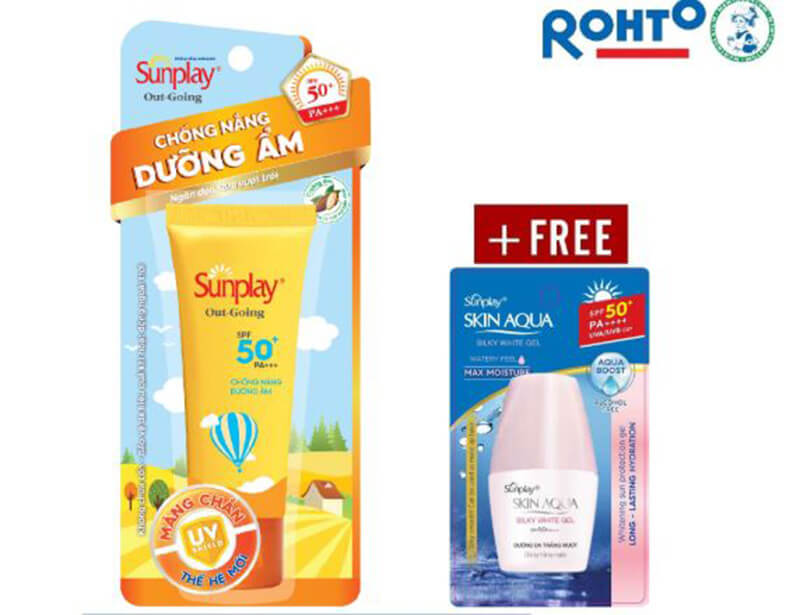 Kem chống nắng Sunplay Out Going SPF 50, PA+++