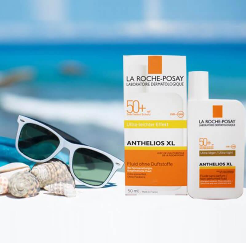 La roche posay là số ít sản phẩm chống nắng có thiết kế độc đáo và lạ mắt
