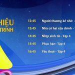 Lịch phát sóng SCTV14: Các chương trình nổi bật