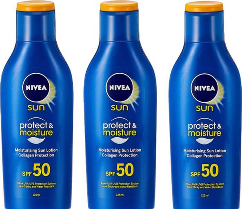 Nivea Sun Protect And Moisture SPF 50 PA+++