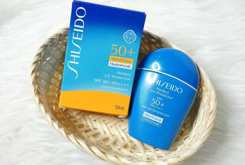 Thiết kế gọn nhẹ và sang trọng là điểm mạnh của Shiseido