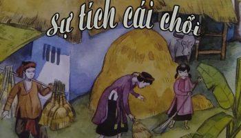 Đọc truyện cổ tích cho bé: Sự tích cái chổi