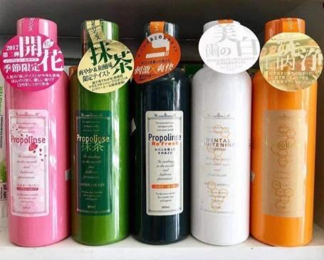 REVIEW các loại nước súc miệng Propolinse Nhật Bản 1